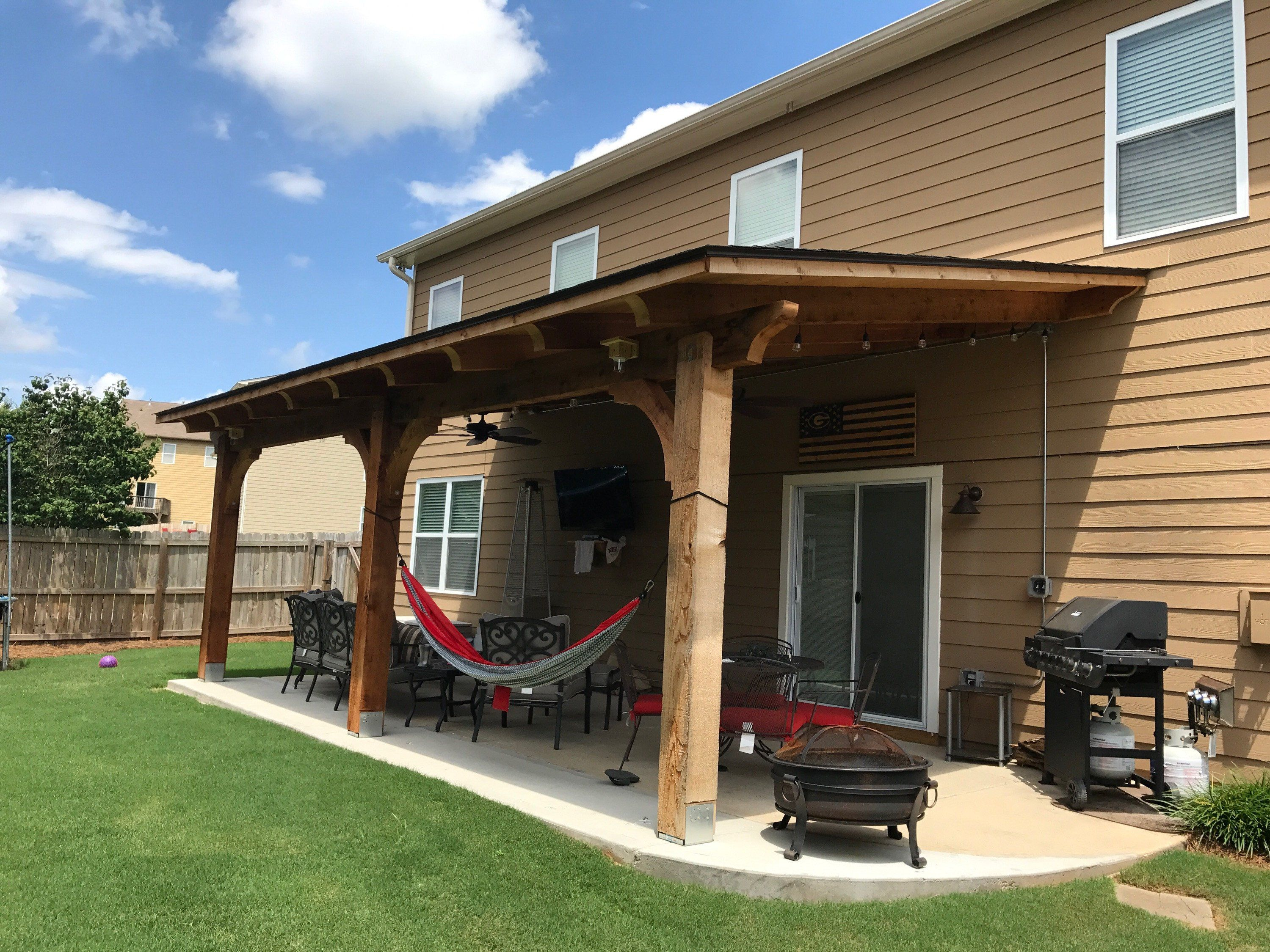 Shed Roof Awnings Patio Remodel Covered Patio Design Patio Design