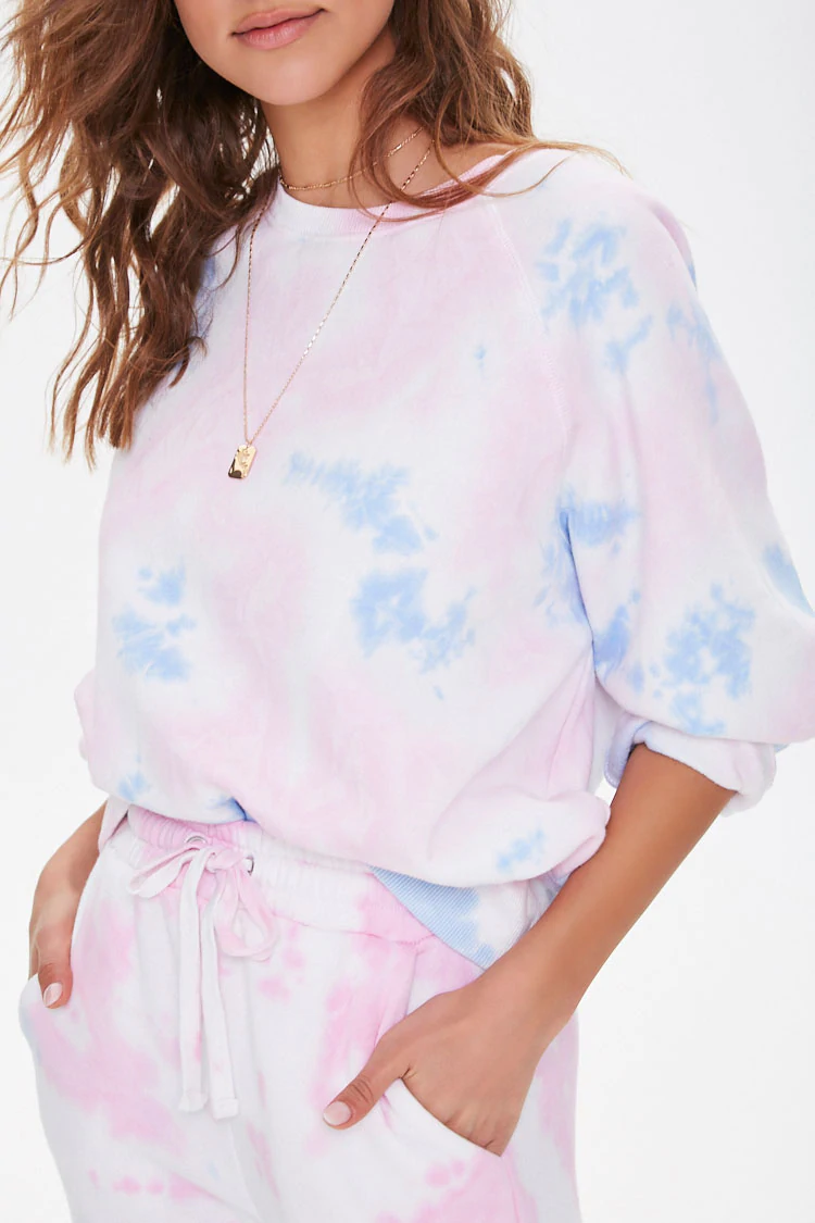 Tie Dye Fleece Sweatshirt Forever 21 Tie Dye Outfits Tie Dye Shirts Patterns Tie Dye Fashion [ 1125 x 750 Pixel ]