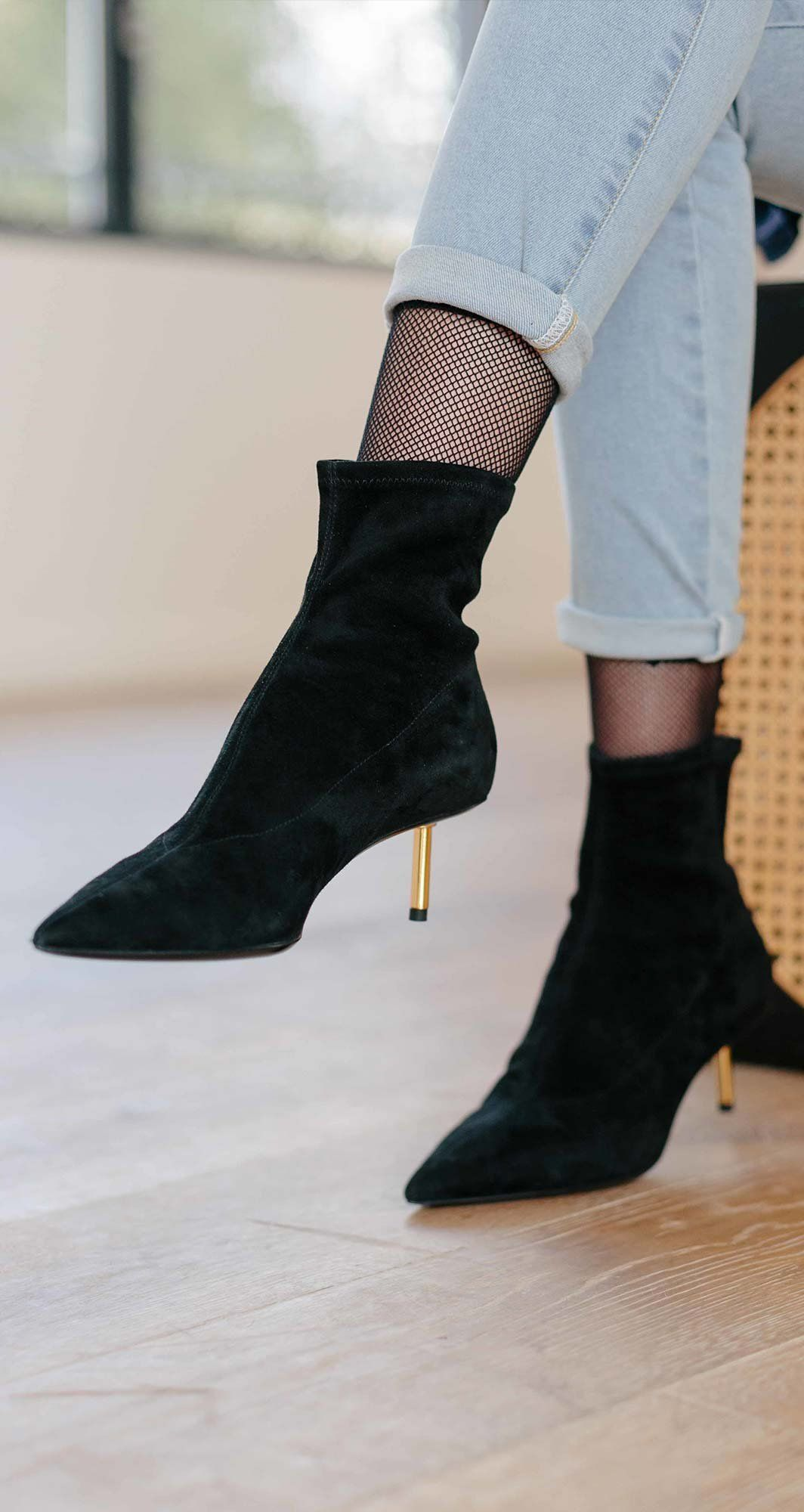 1890bb906315 Cigarette Bootie by Stella Luna Fall Winter 2018