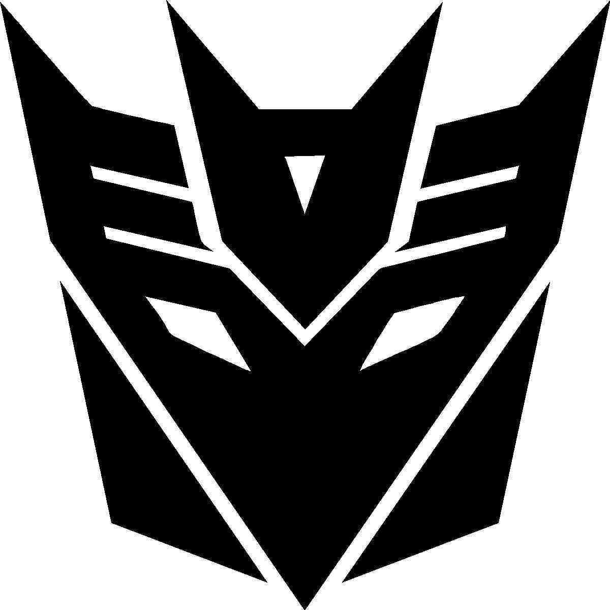 The reflective decepticon sticker decal for car or bike ebay