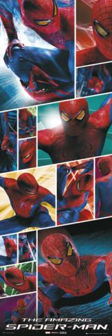 The Amazing Spiderman-Collage Deurposter 2