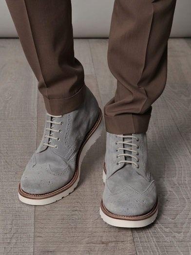8bda563e278659 Cosmetic Evolution. gray men shoes