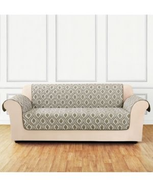 sure fit furniture flair quilted sofa slipcover ogee products rh pinterest co uk