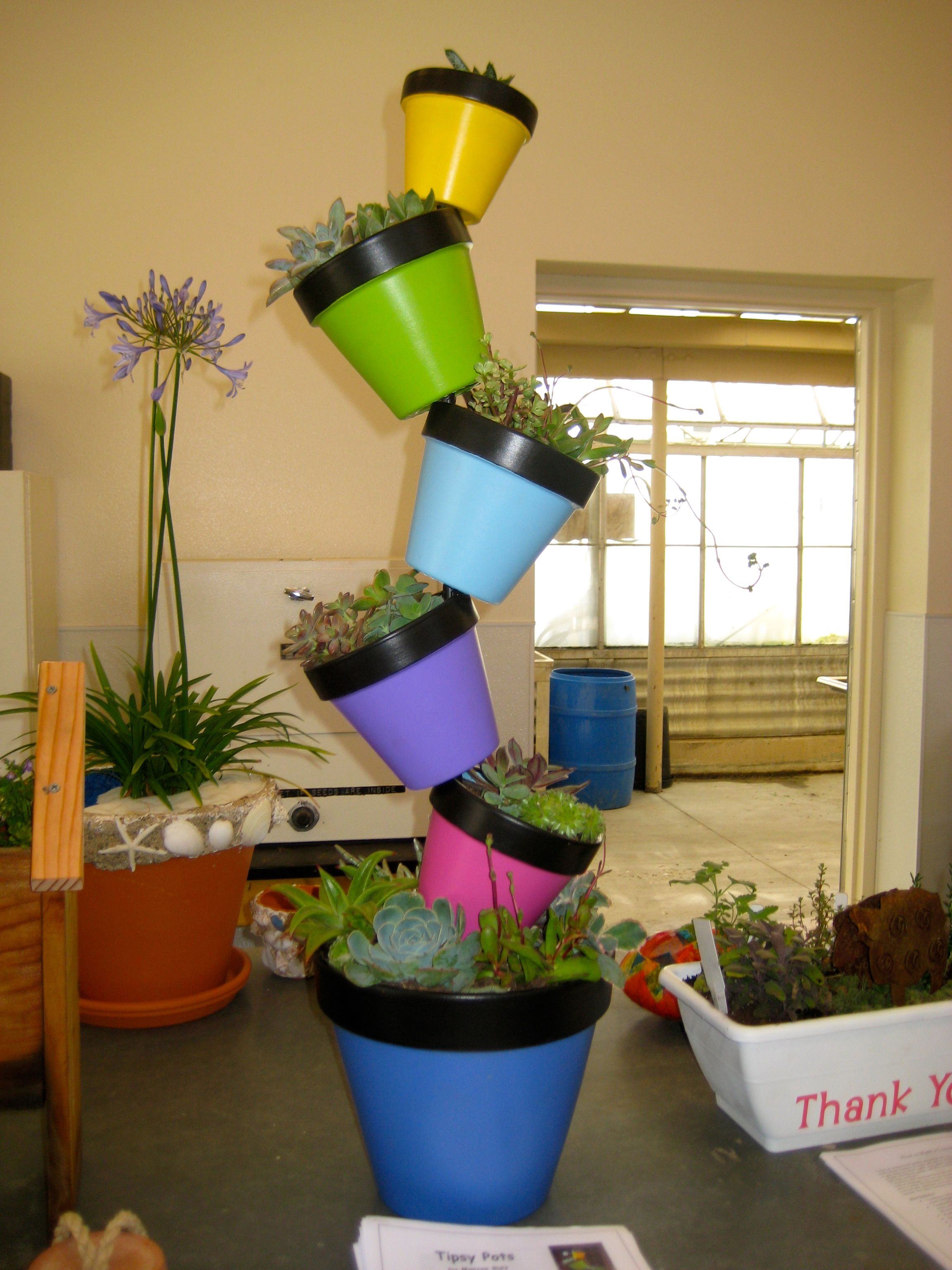 mexican flower pots home depot