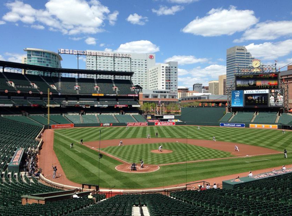 This is What The Orioles vs White Sox Game Sounds Like with No Fans in The Stadium