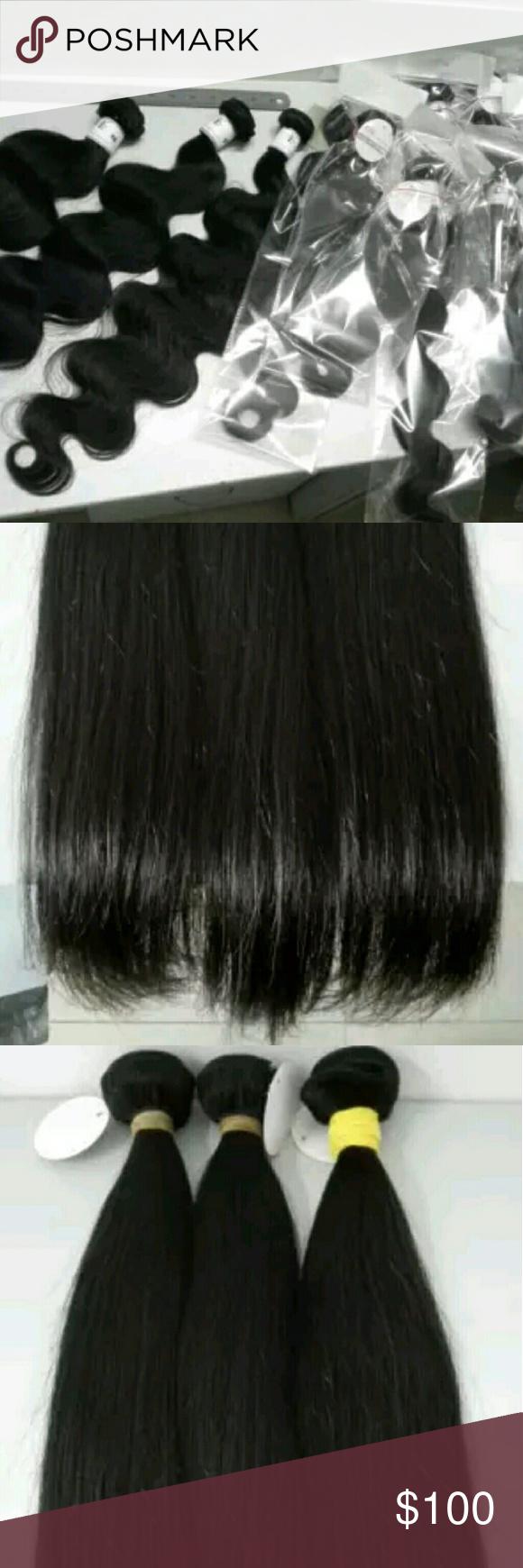 Highest Quality Double Drawn Double Weft Hair Brazilian 100 Virgin