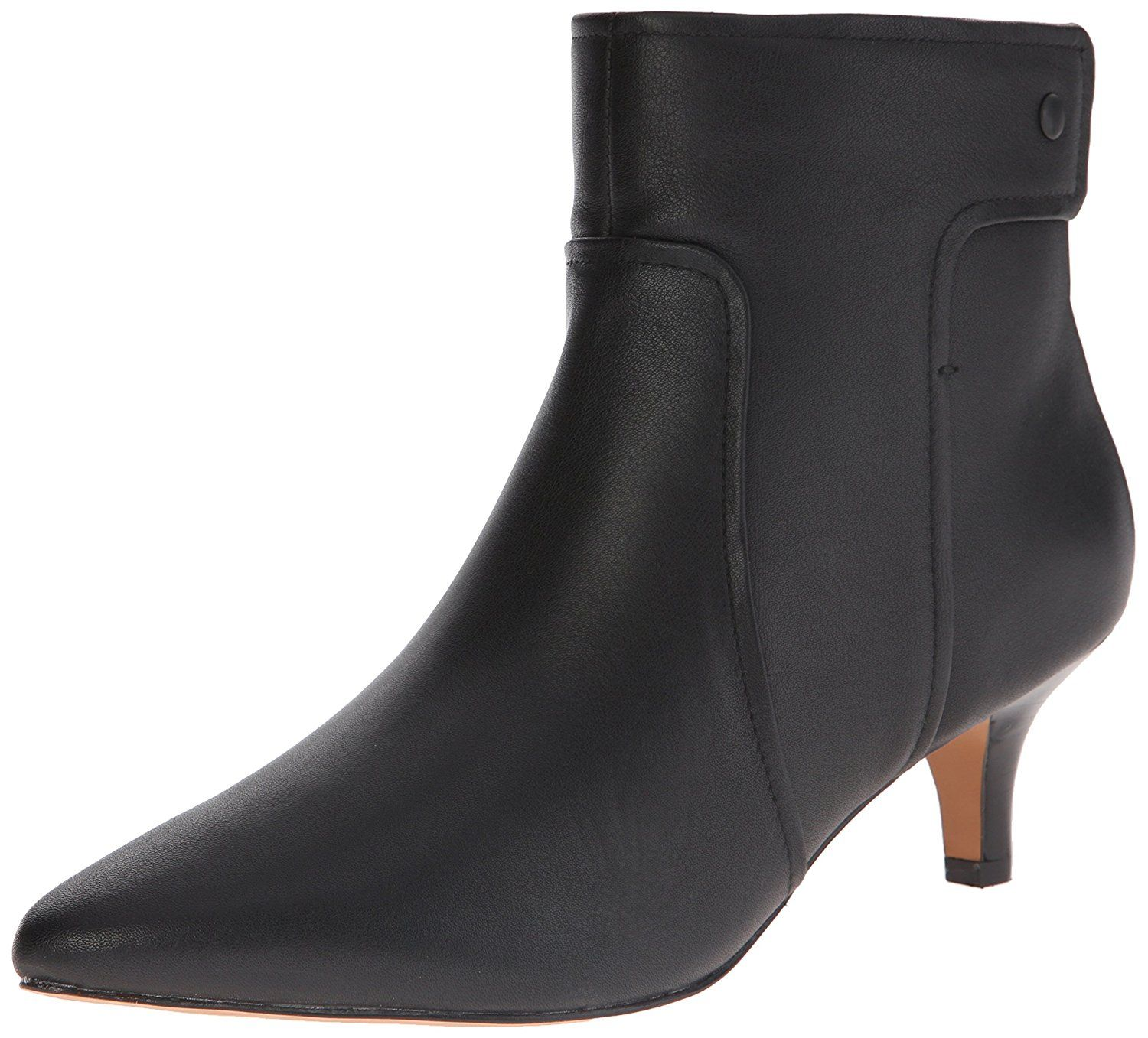 Clarks Women's Sage Aria Boot, Black Leather, M US ** You can get  additional details at the image link.