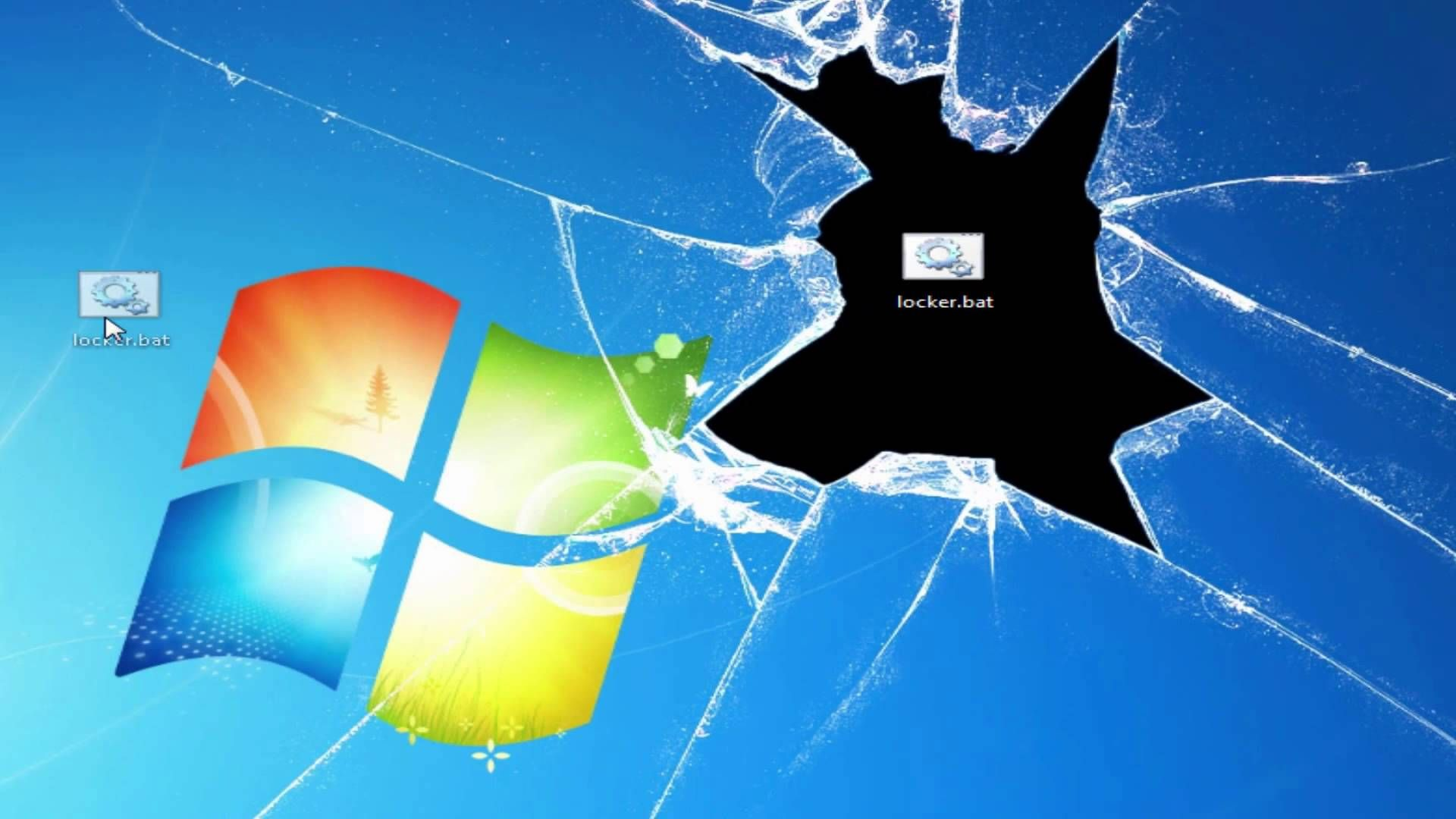 How To Lock A Folder Without Any Software Windows 8 Windows 7 Windows 10 Ur Computer Wallpaper Desktop Wallpapers Windows Wallpaper Broken Screen Wallpaper