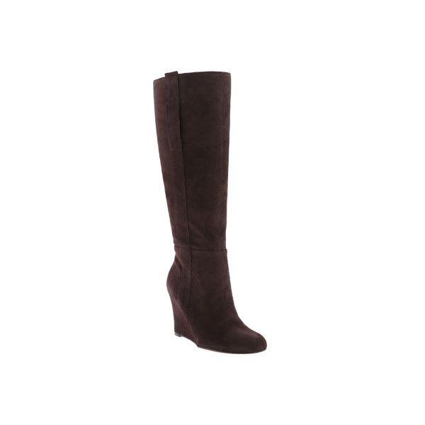 d9ed3dd7d3984 Women's Nine West Oran Knee High Boot - Dark Brown Suede Casual ($189) ❤