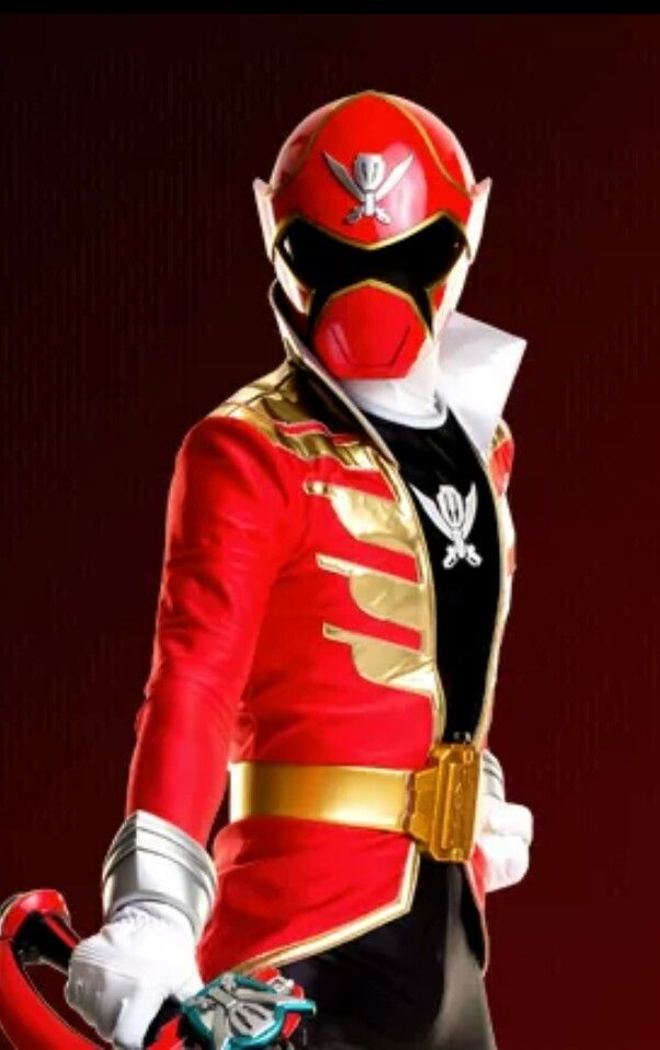 Red Megaforce Power Ranger | Power rangers super mega ...