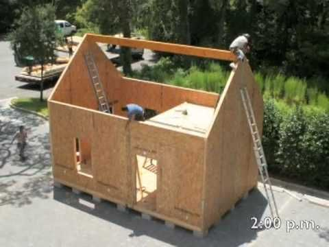 Tiny Sip House Lots Of Great Video Suggestions Structural Insulated Panels Insulated Panels Prefab Homes