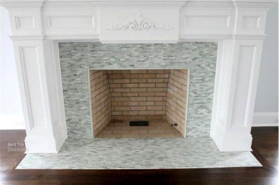 Raleigh Greenville Nc Fireplace Tile Photos Amp Ideas Rd Surround