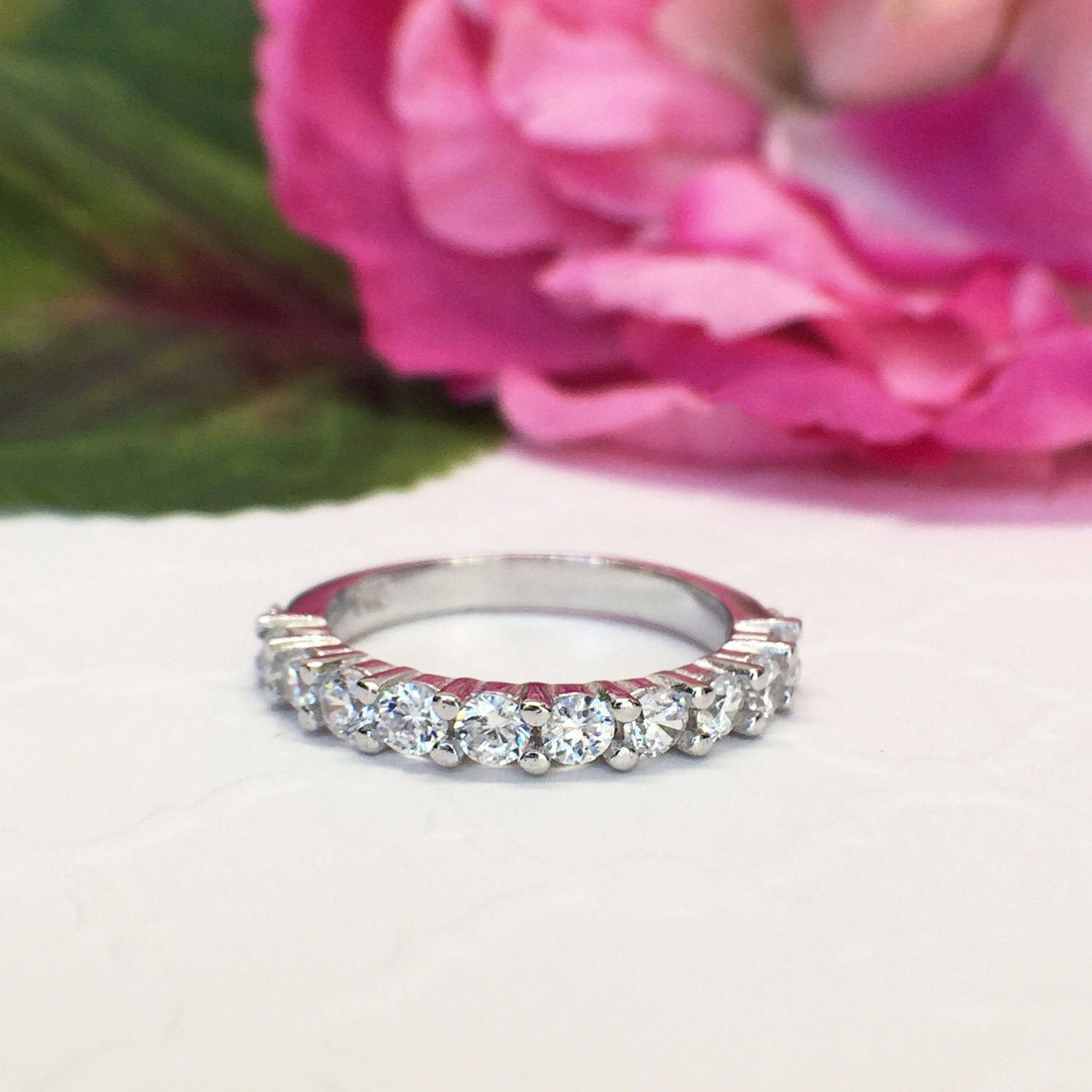 3/4 ctw 12 Stone Band | Products | Pinterest | Wedding!, Products ...
