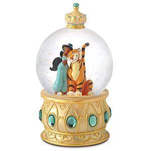 Disney Jasmine Rajah Jeweled Snowglobe Disney Snowglobes Snow Globes Musical Snow Globes