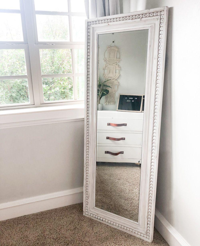 Diy Rustic Chic Full Length Mirror Full Length Mirror Diy Mirror Frame Diy Chic Mirror