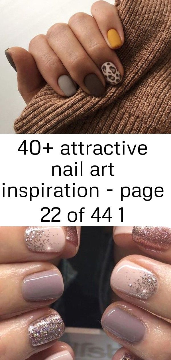 40+ attractive nail art inspiration – page 22 of 44 1