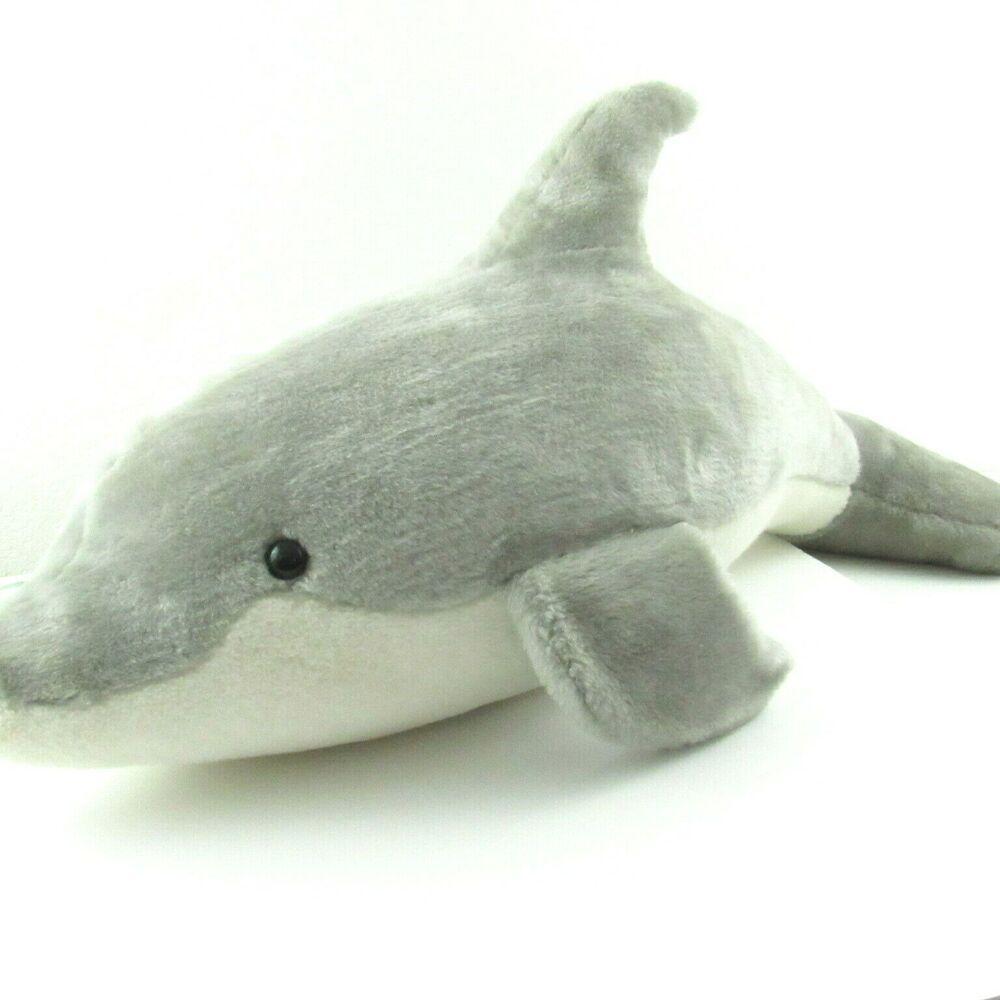 Dell S Dolls Dolphin Plush Large Gray Stuffed Animal Toy 30 Ocean Mammal Dellsdolls Grey Stuffed Animals Pet Toys Ocean Mammal [ 1000 x 1000 Pixel ]
