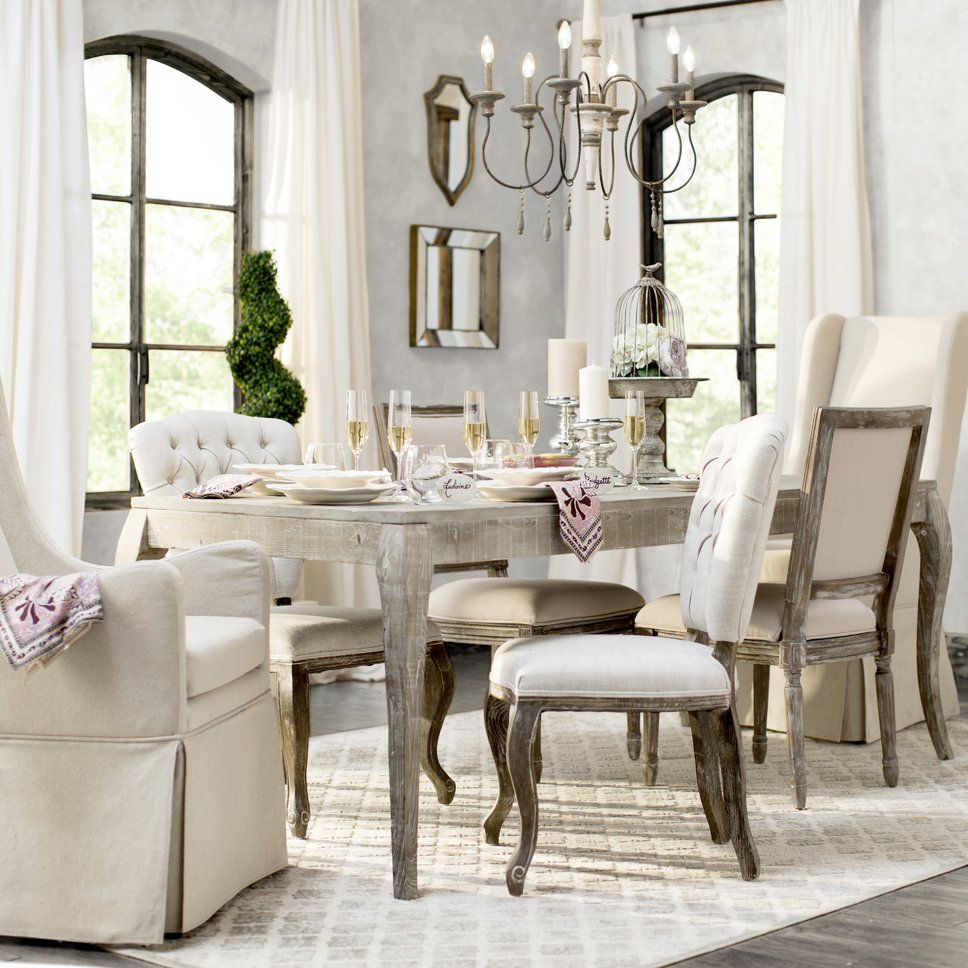 Cottage/Country Dining Room Design Photo by Wayfair