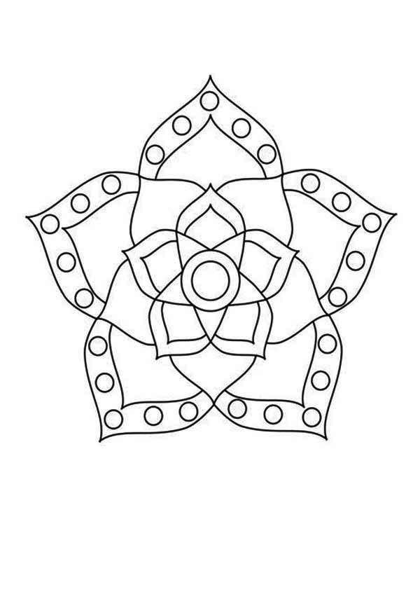 Image result for rangoli black and white | Rangoli design ...