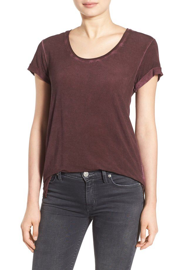 PAIGE PAIGE 'Ranleigh' Scoop Neck Tee (Nordstrom Exclusive) available at #Nordstrom