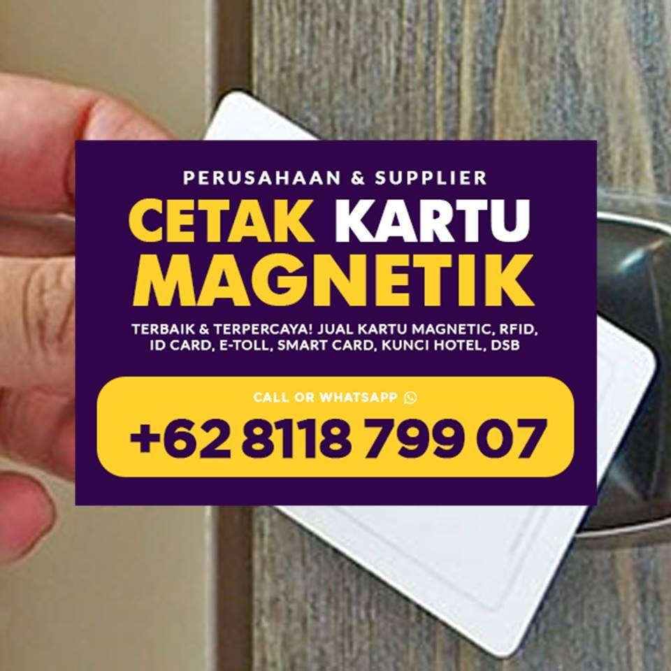 Pin Di Promo Wa 62 8118 799 07 Jual Kartu Magnetic Blank