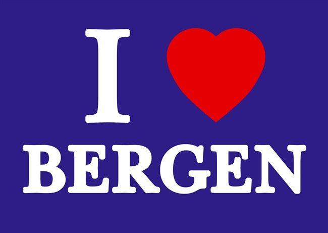 I love Bergen - Were i live.