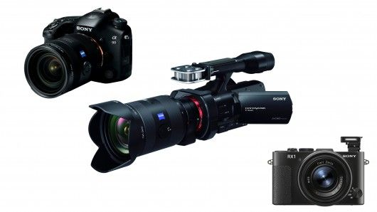 Sony has announced three new full-frame cameras - the Cyber-shot DSC ...