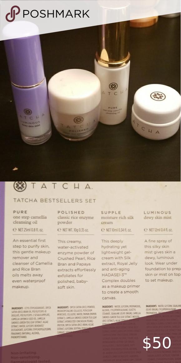 Tatcha 4 Pc Skin Care Set Skincare Set Pc Skin Skin Care