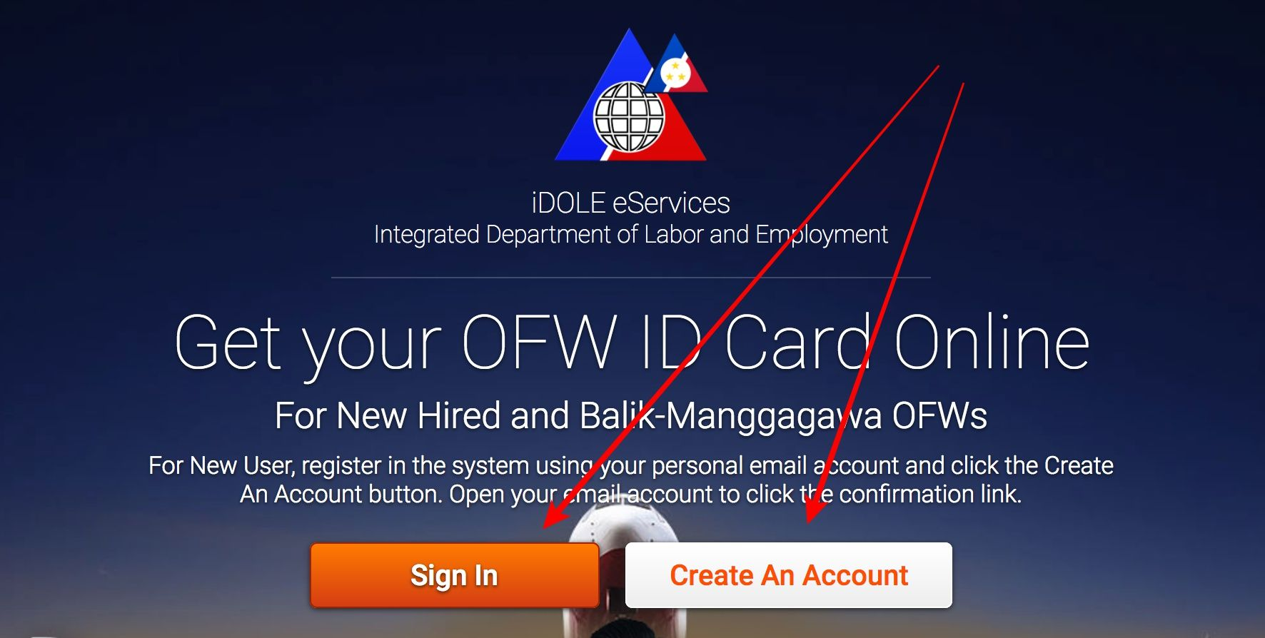 Steps : How to Get your OFW ID Card Online - Kwentong OFW rona