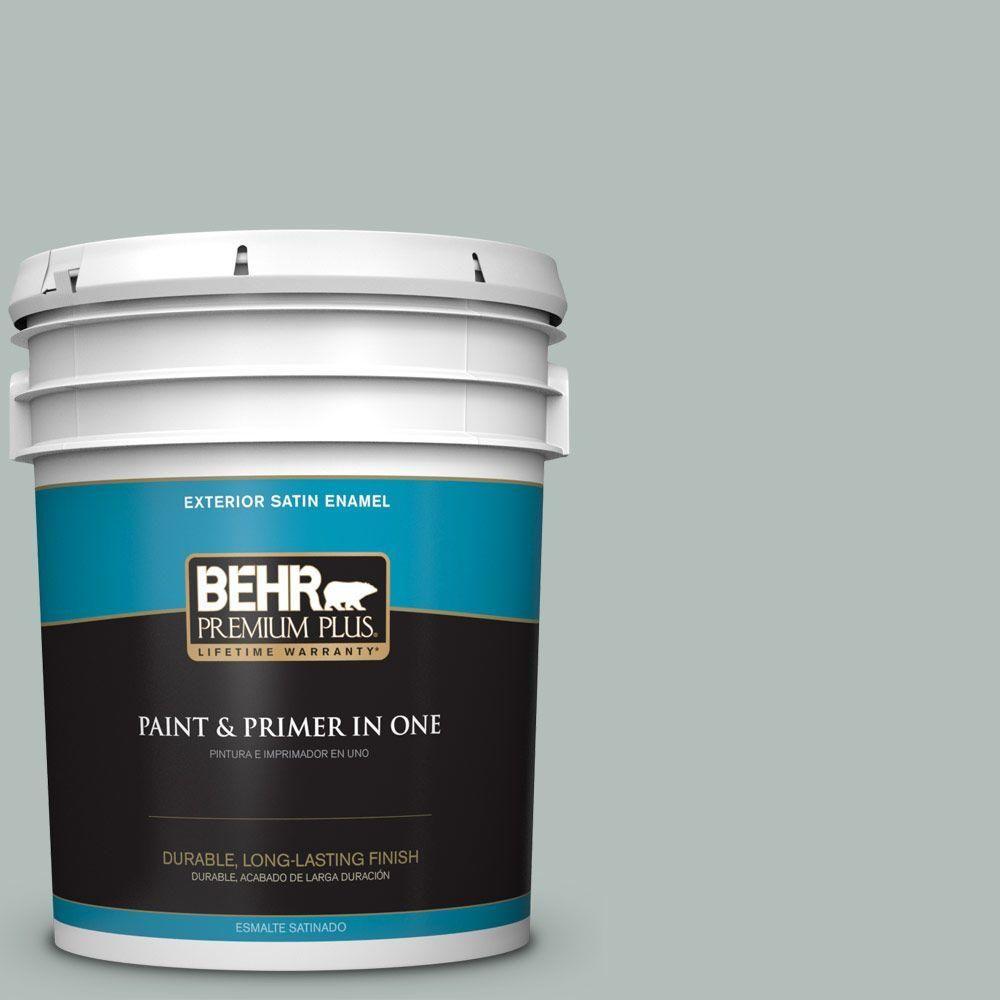 BEHR Premium Plus Home Decorators Collection 5-gal. #hdc-NT-25 Dew Satin Enamel Exterior Paint
