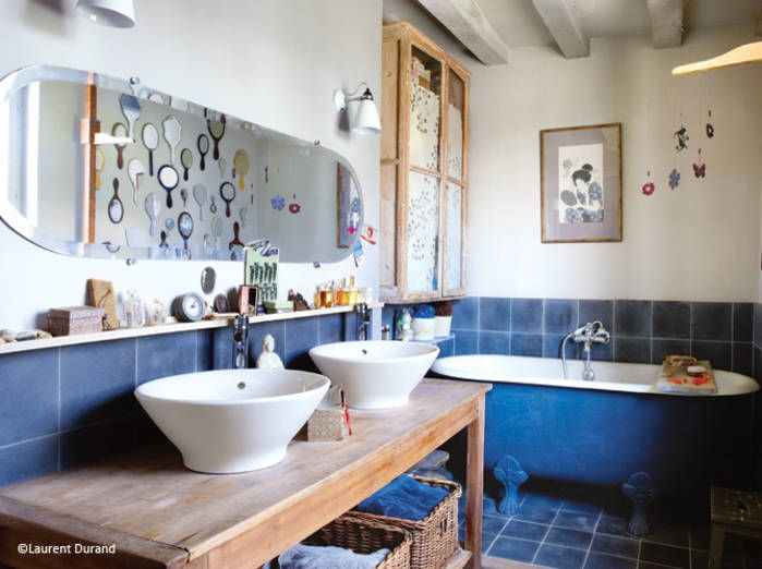 R sultat de recherche d 39 images pour meuble salle de bain style cottage d co boh me pinterest - Meubles style cottage ...