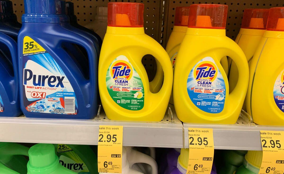 Tide Simply Detergent Just 1 95 At Walgreens Tide Detergent