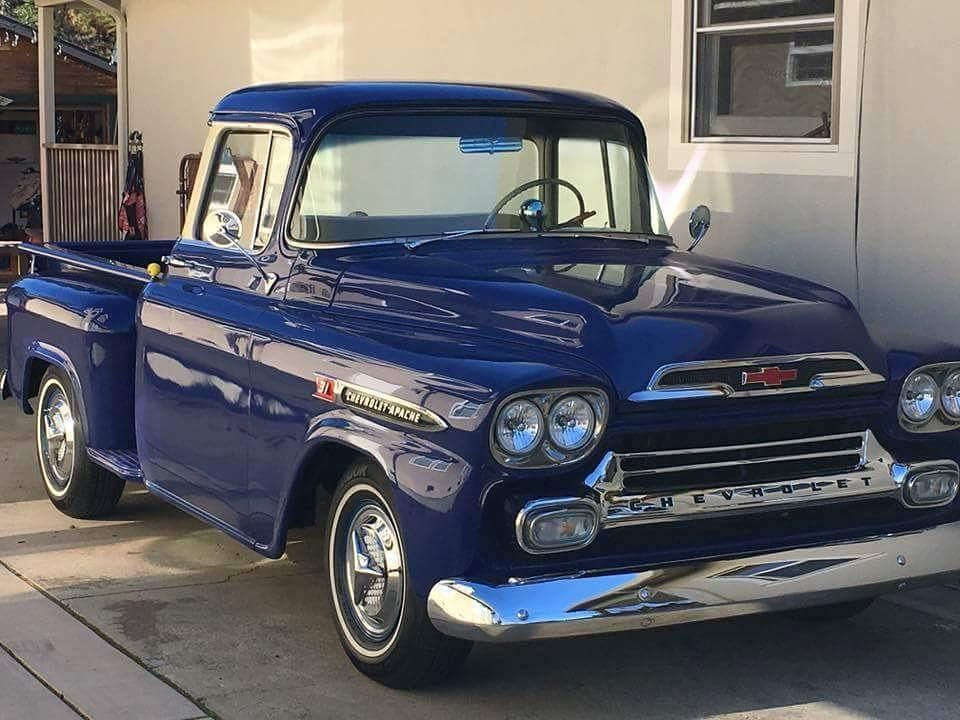 dave pontier s 1958 chevrolet apache nice truck from 60s and 70s rh pinterest com