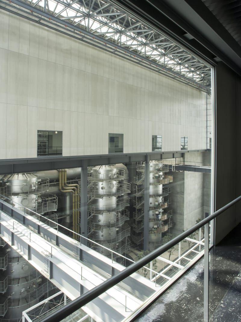 Yoshio Taniguchi Alessio Guarino Hiroshima Naka Incineration Plant Data Architecture Hiroshima Plants