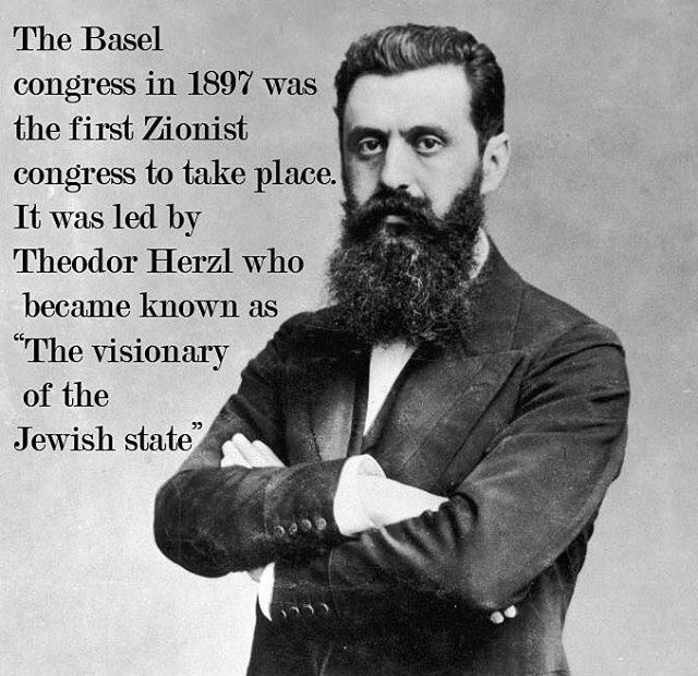 The #Jews had a #vision. A vision to build a state based on the love for their true homeland. They wanted to see the land flourish and prosper. #Israel has accomplished so much and it is one of the leading countries in #technology #medicine #reaserch #agriculture #humanitarian and so much more. Picture: Theodor Herzl  #proudtobeisraeli #supportisrael #loveisrael #palestina #palestine #israelforever #israel #israel_best #israel_times #history #herzl
