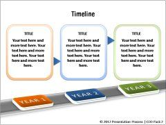 Powerpoint timelines with callouts professional tools pinterest creative timeline templates roadmap project status stages next steps and milestone templates with pre formatted and animated content from ceo pack 2 toneelgroepblik Images