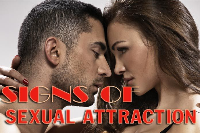 Signs of sexual attraction