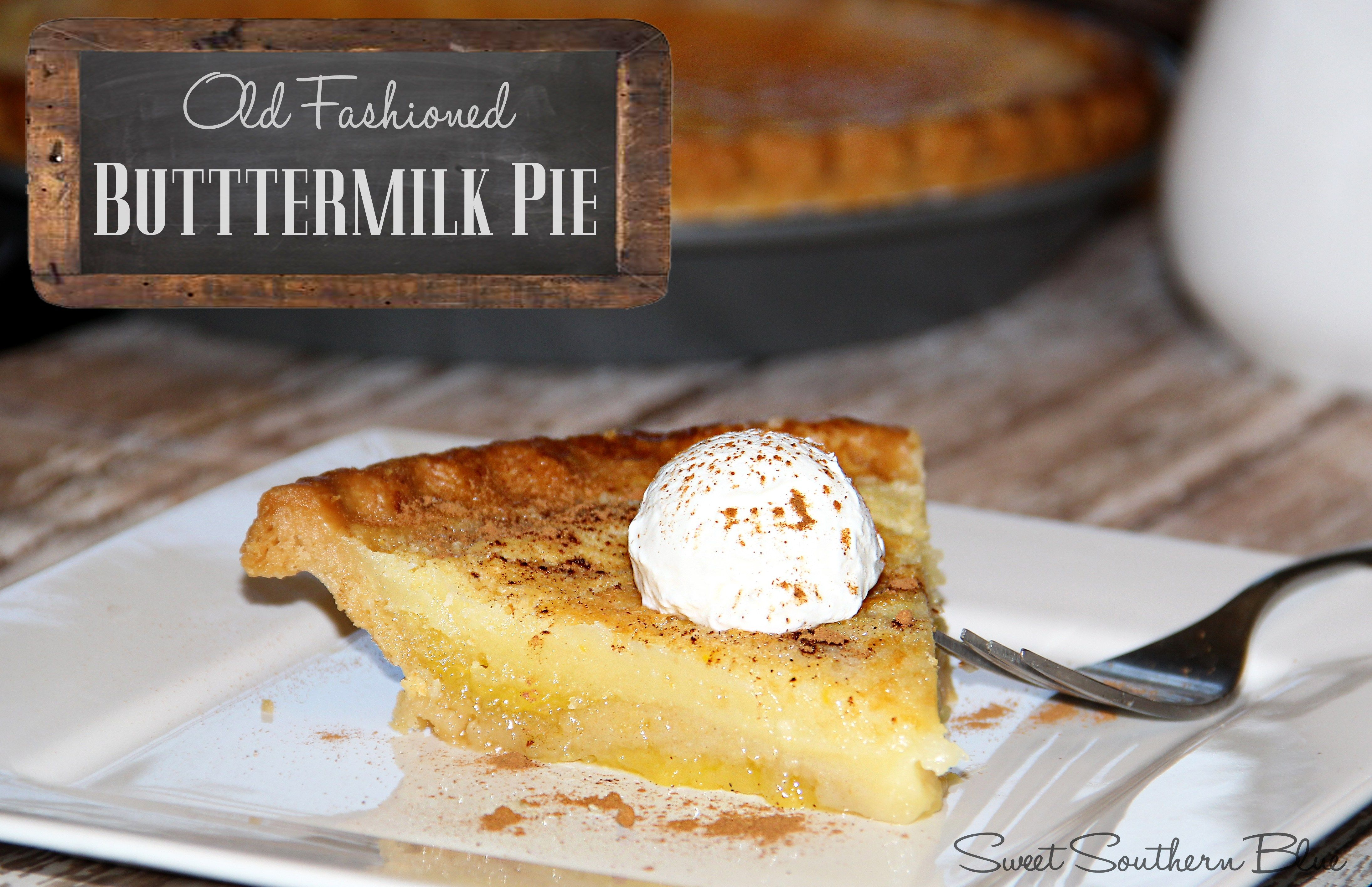 buttermilk pie 2