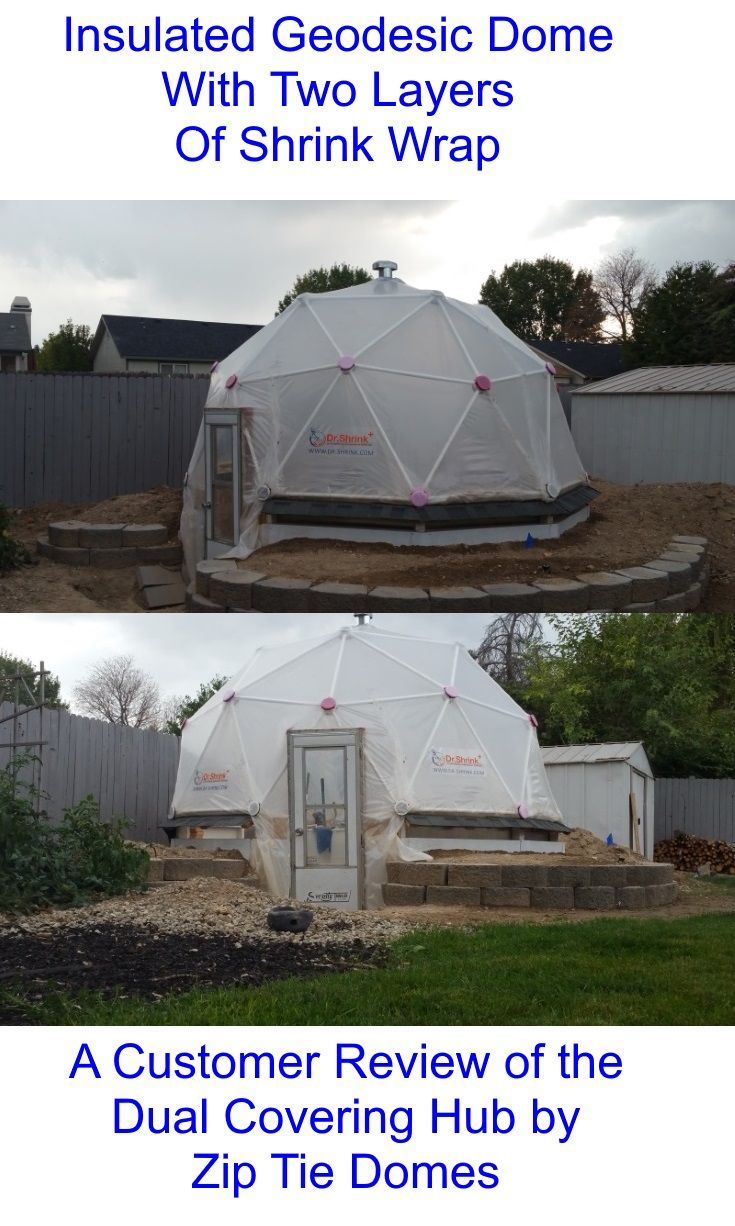 Customer Review - 2v Dual Covering Geodesic Dome \'Hubs Only\' Kit ...