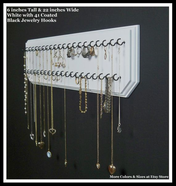 Hanging Jewelry Organizer Necklace Holder Display Rack
