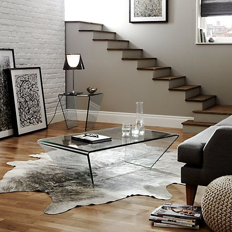 Buy John Lewis Curvo Glass Coffee Table Online At Johnlewis