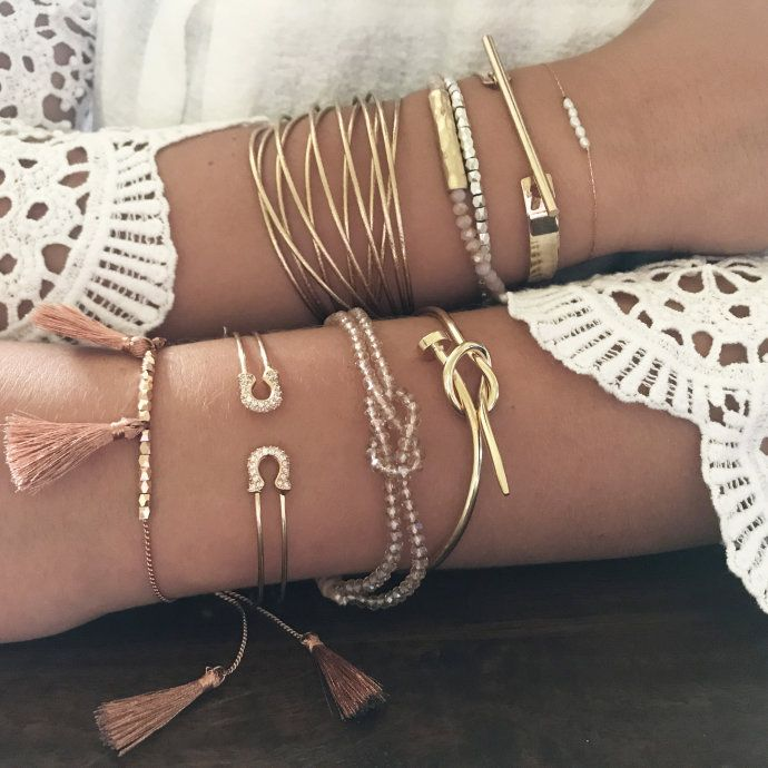 Worn Alone As A Delicate Touch Or Stacked Along With Your Favorite Watch Our Boutique Layering Bracelets Make Statement