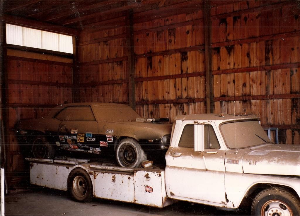 Vintage Drag Car Haulers or Tow Rigs. | Pit Area - Racing | The ...