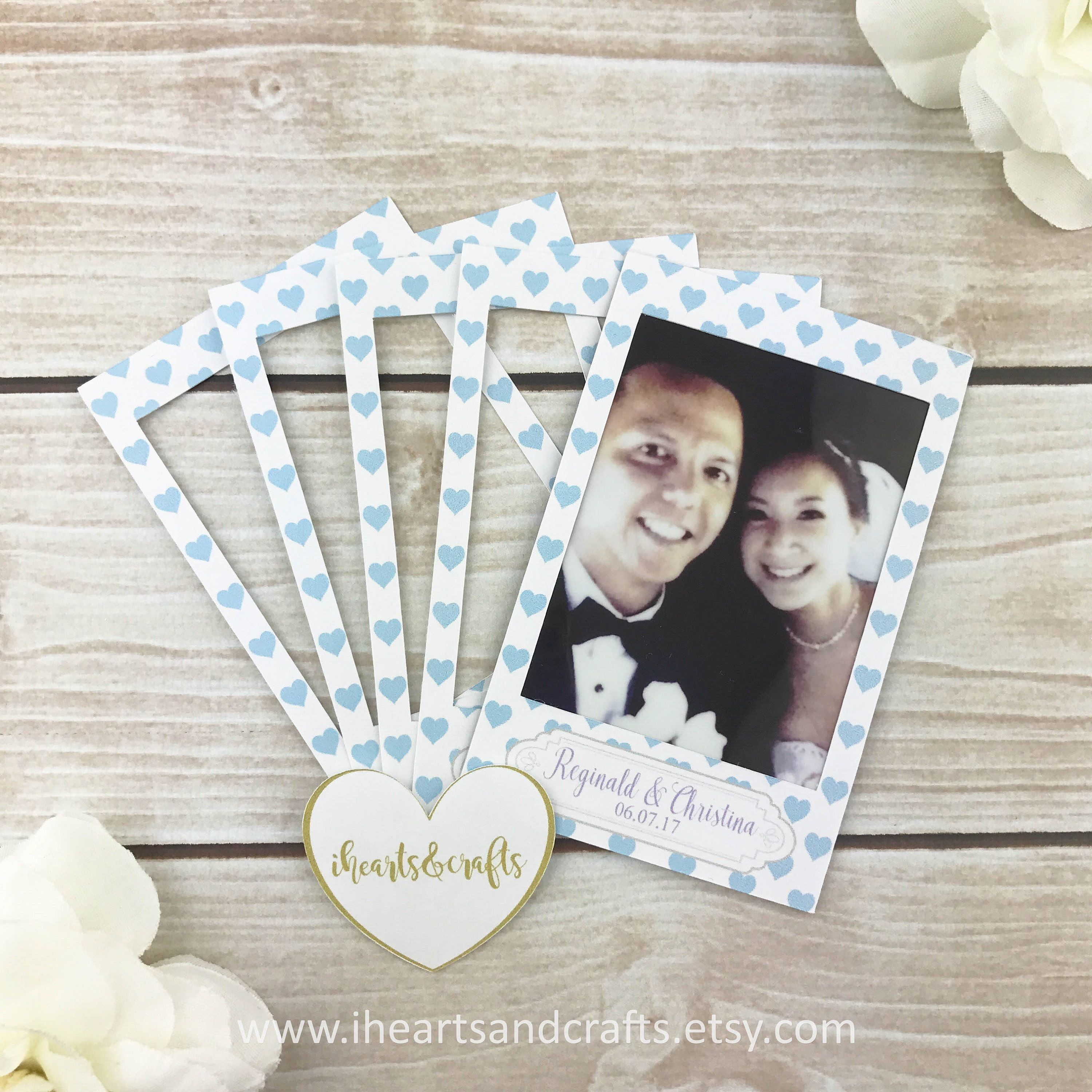 SET OF 20 Instax mini STICKERS Personalized