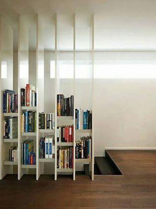 buecherregal design ideen, 25 atemberaubende kreative bücherregale design-ideen | wohnzimmer, Design ideen