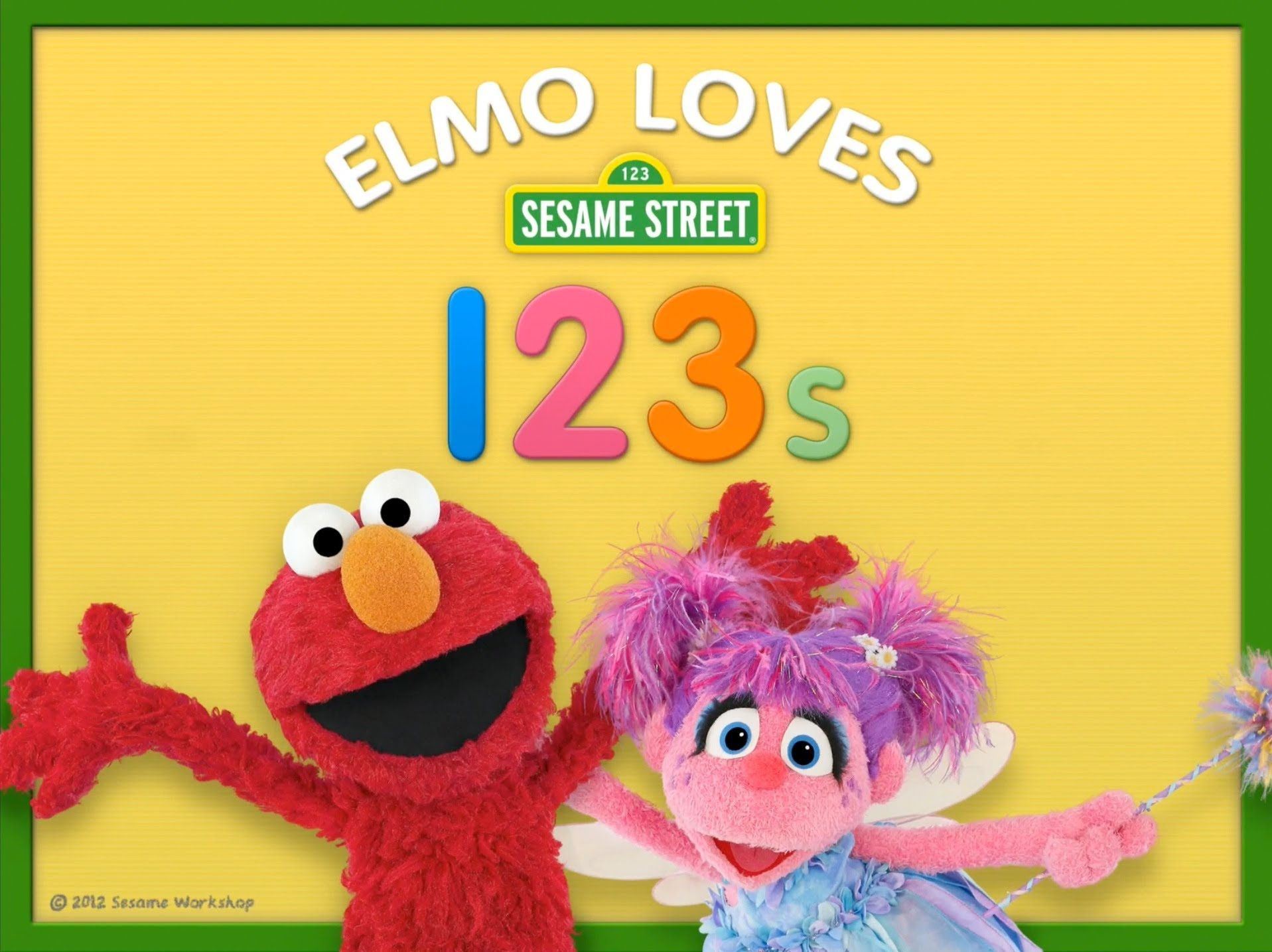 Elmo Learn to count with Elmo Number 2 (With images