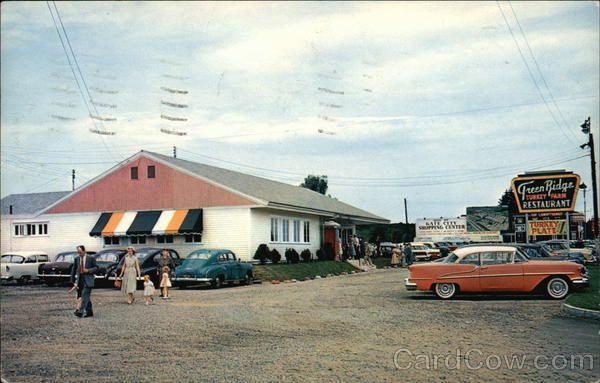 Green Ridge Turkey Farm Restaurant 1950s Or 60s Nashua New