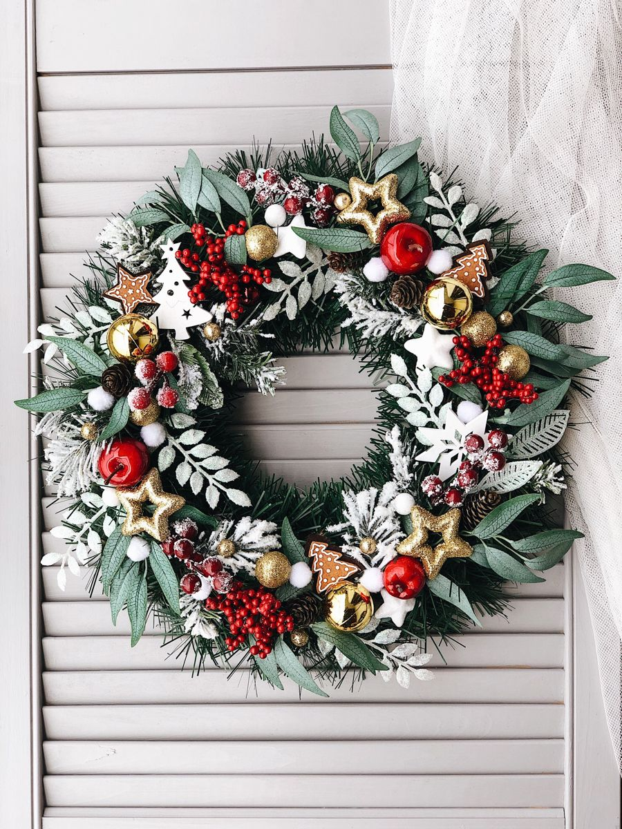 Wianki Swiateczne Kreatywnieidomowo Pl Seasonal Wreaths Christmas Wreaths Holiday Decor