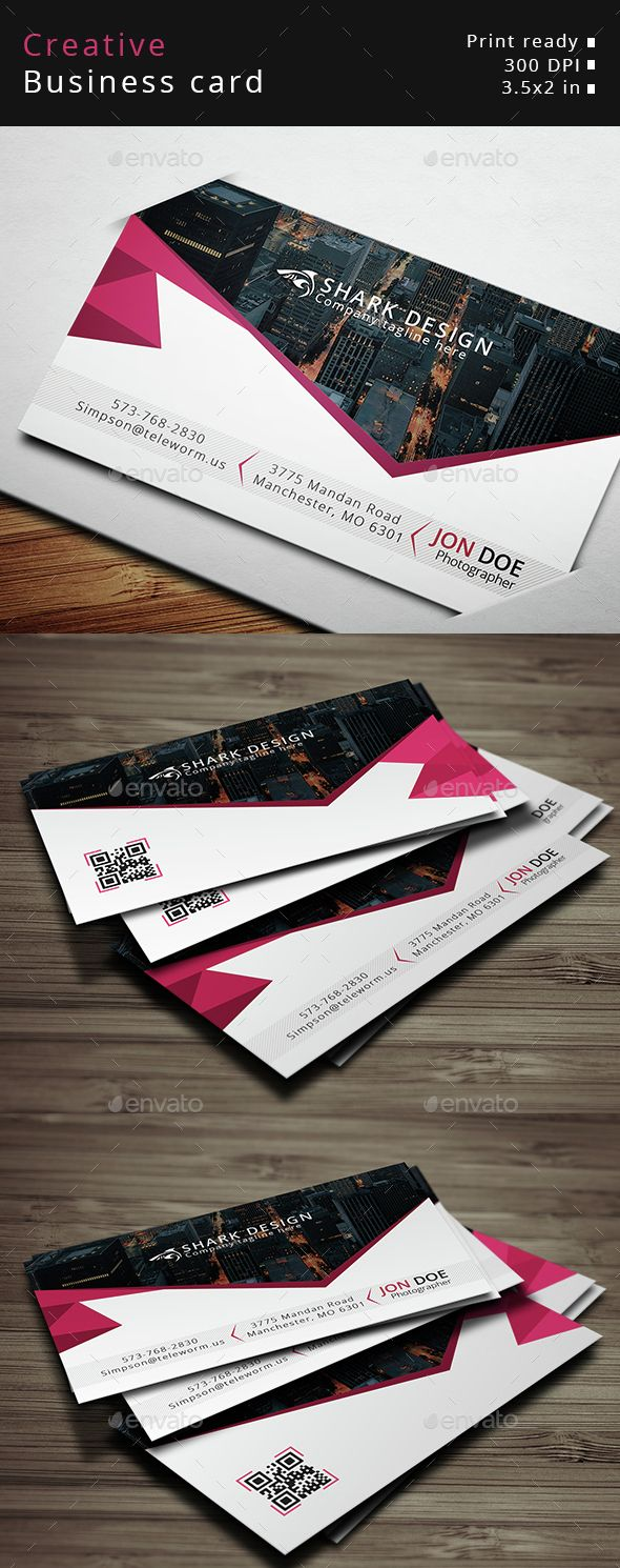 Creative Business Card Business Cards Creative Business Card Photoshop Business Card Template Design