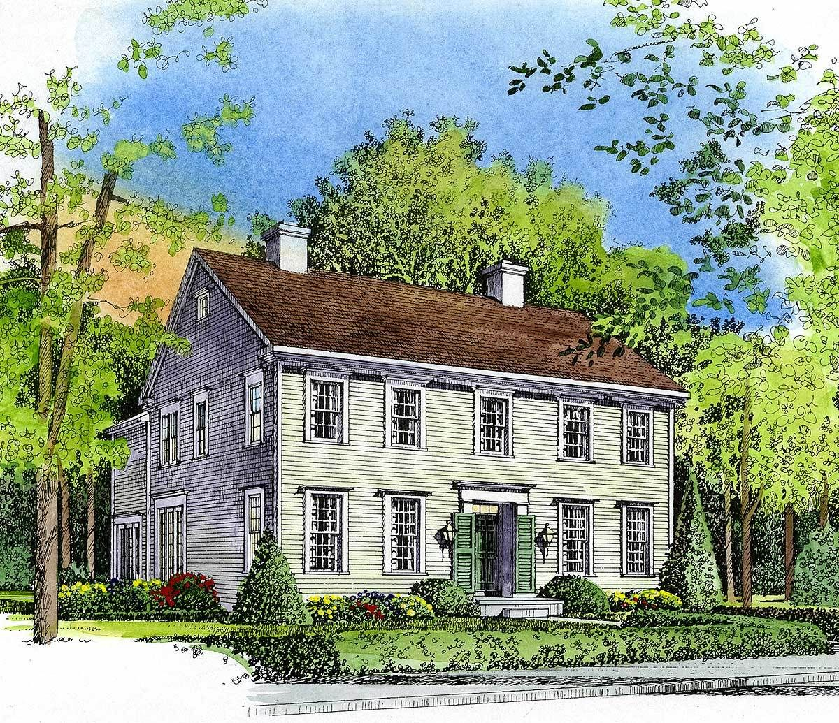 House Plan 43033PF Architectural design house